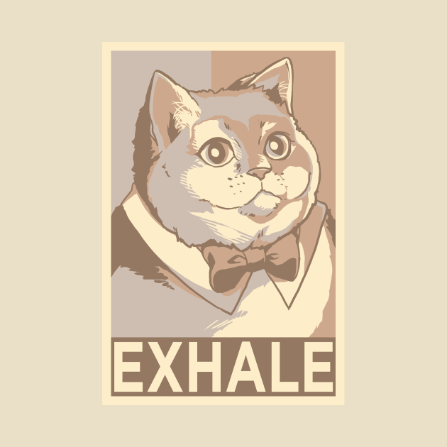 TeePublic: Exhale