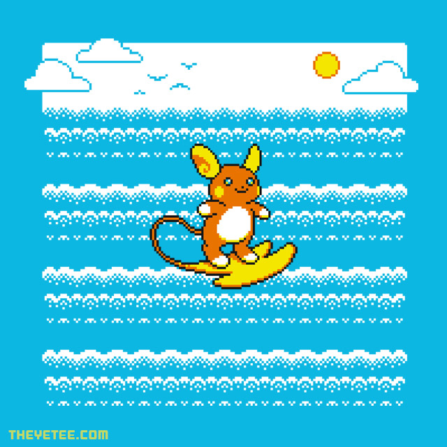 The Yetee: Alola Surf!