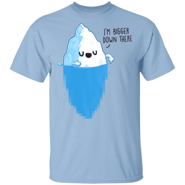 Pop-Up Tee: Bigger Down There