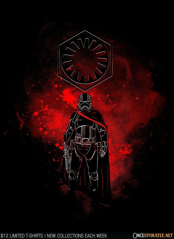 Once Upon a Tee: Phasma Art