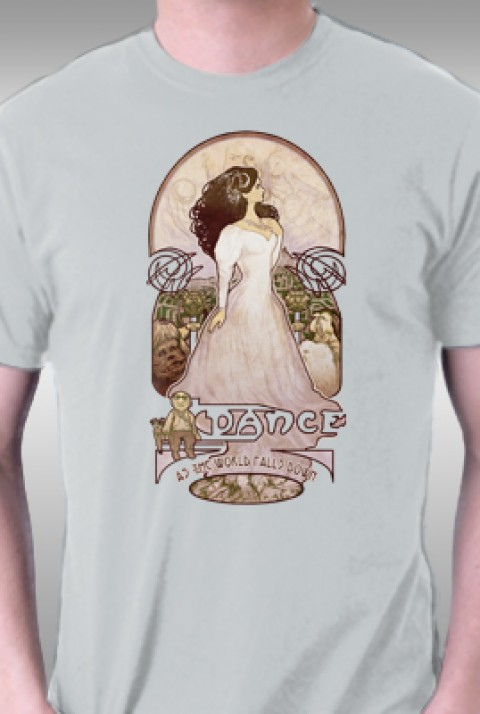 TeeFury: Dance As The World Falls Down