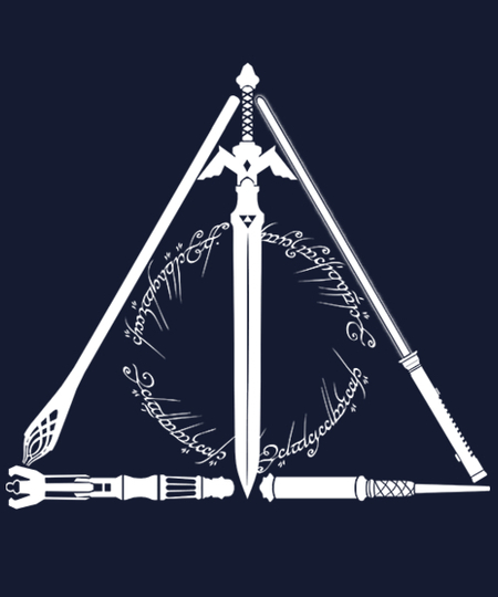 Qwertee: The Geeky Hallows