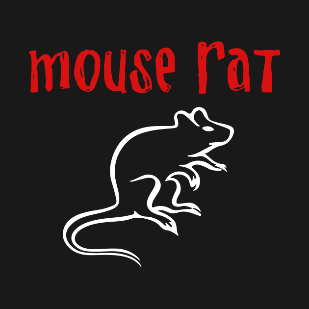 TeePublic: Mouse Rat