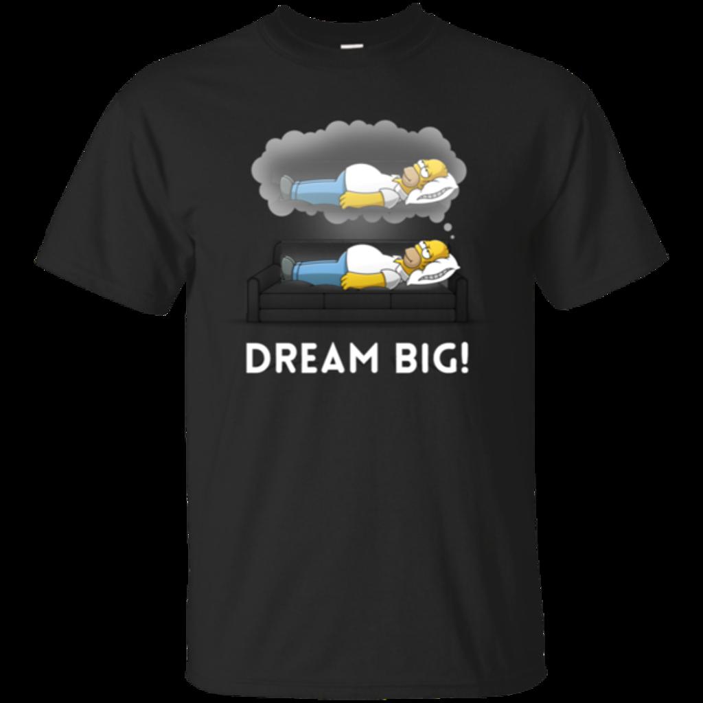 Pop-Up Tee: Dream Big!