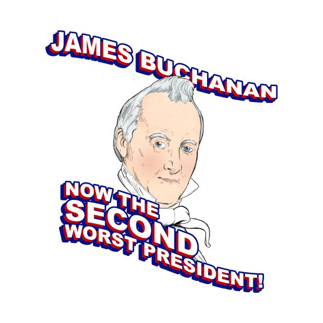 TeePublic: James Buchanan: Second Worst