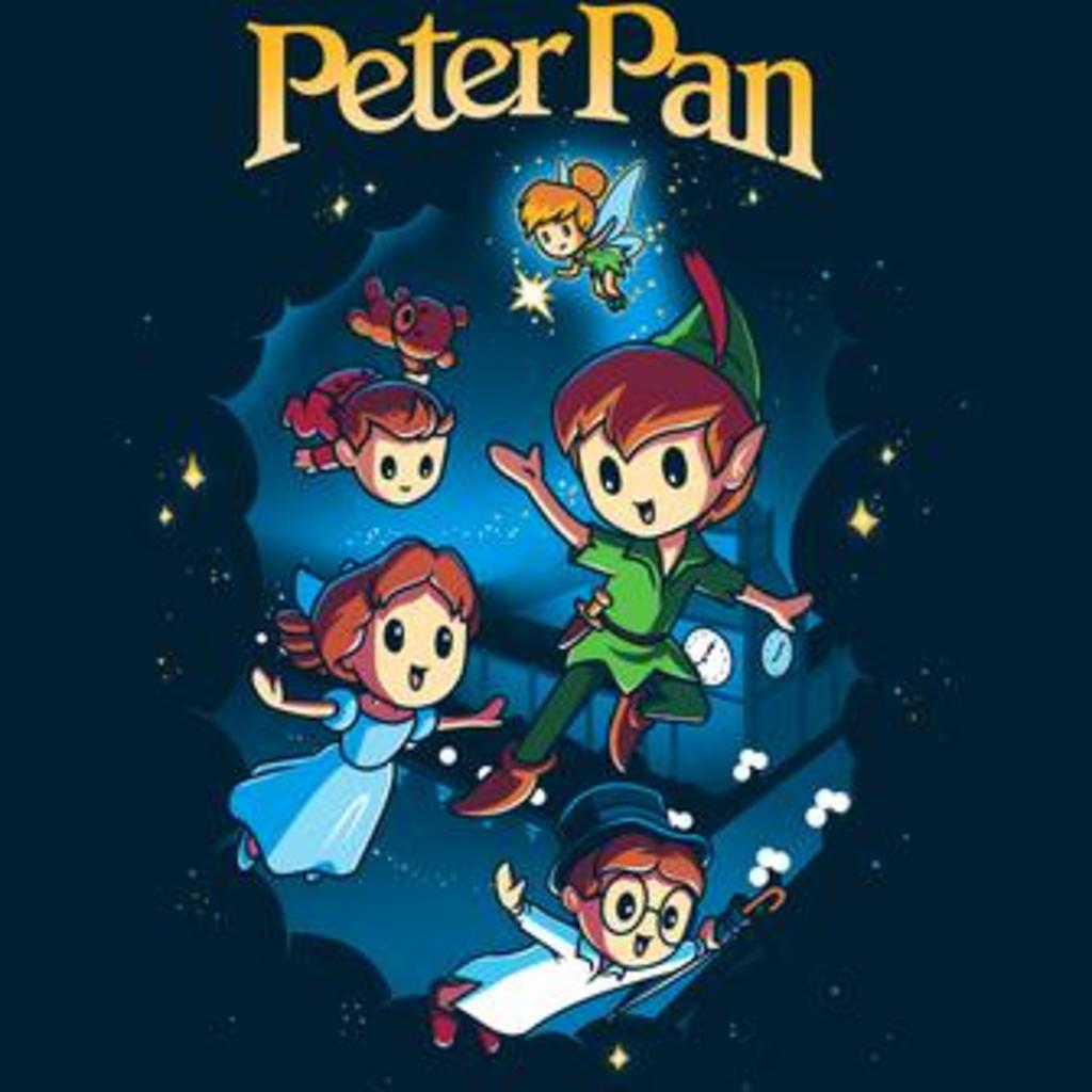 TeeTurtle: Disney Peter Pan