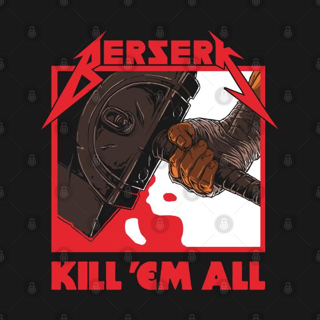 TeePublic: Berserk Metal