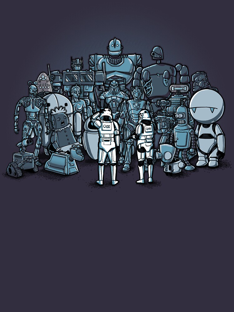 RedBubble: These aren't the droids you are looking for