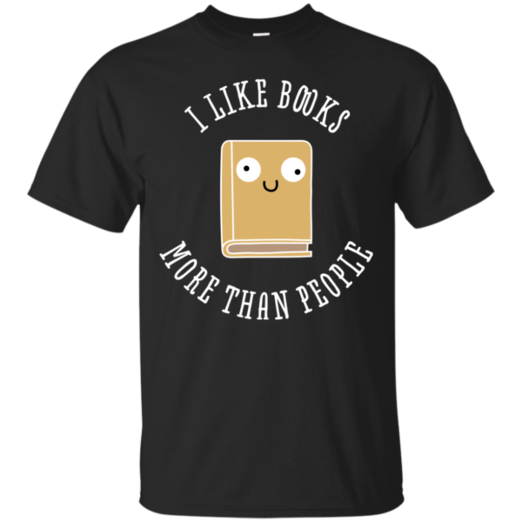 Pop-Up Tee: I Like Books
