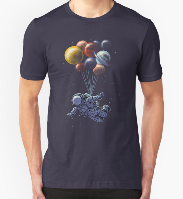 RedBubble: Space Travel