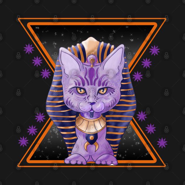 TeePublic: Feline: Egyptian Farón - By Kyas