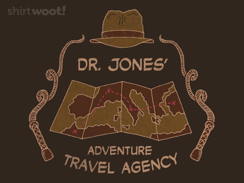 Woot!: Jones Adventure Travel Agency