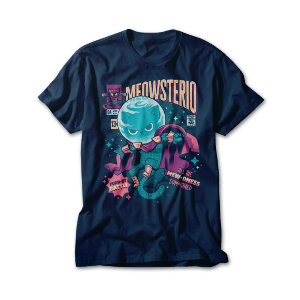 OtherTees: Meowsterio