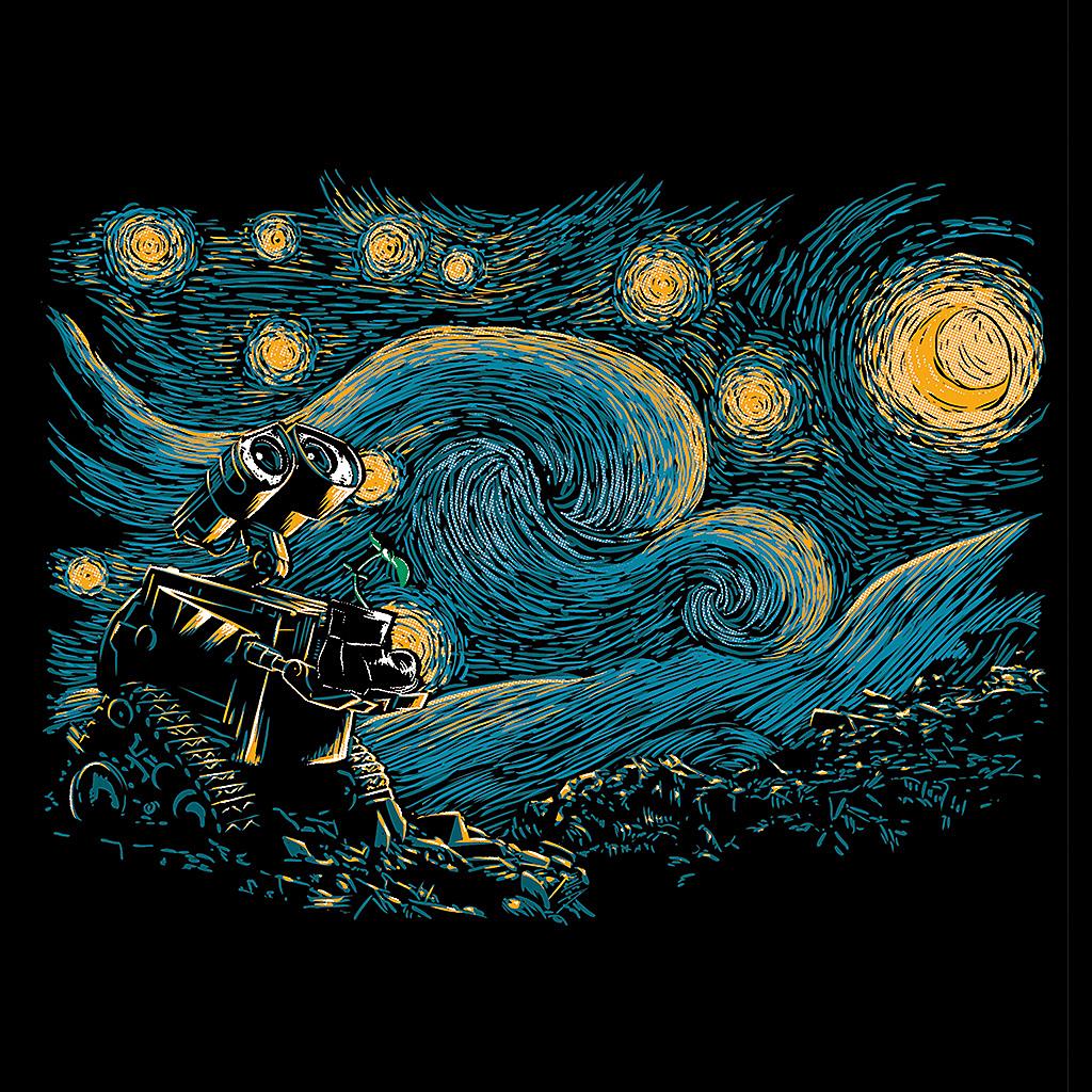 TeeTee: Starry Robot