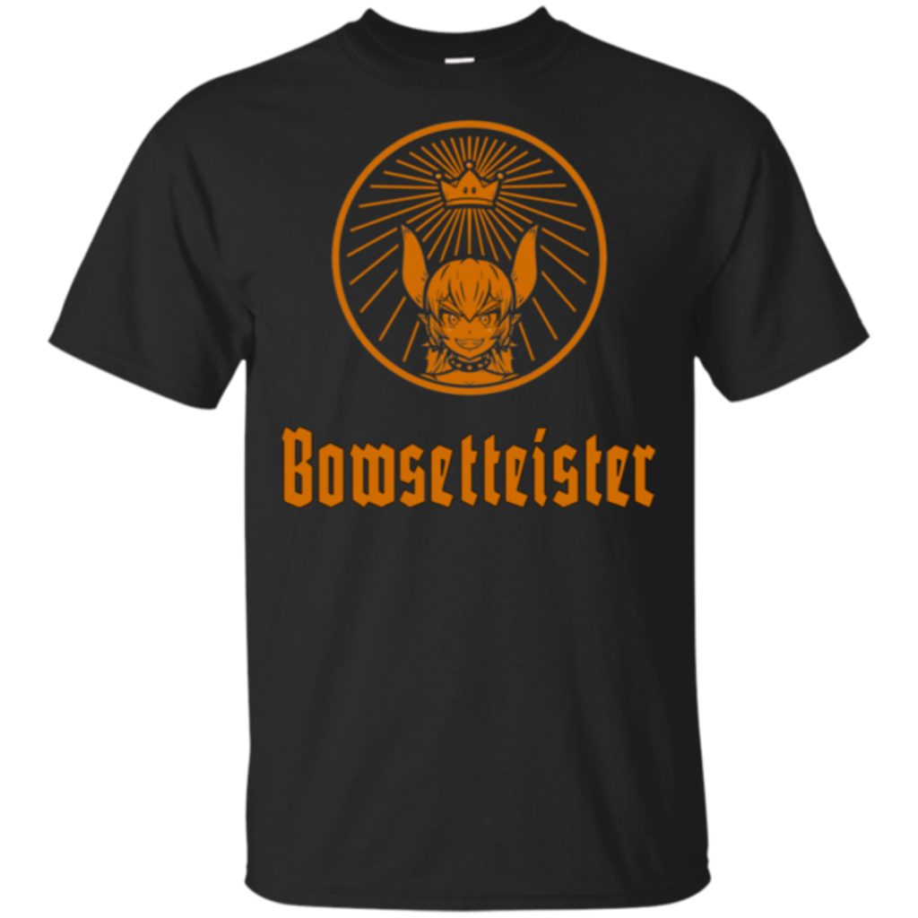 Pop-Up Tee: Bowsettmeister