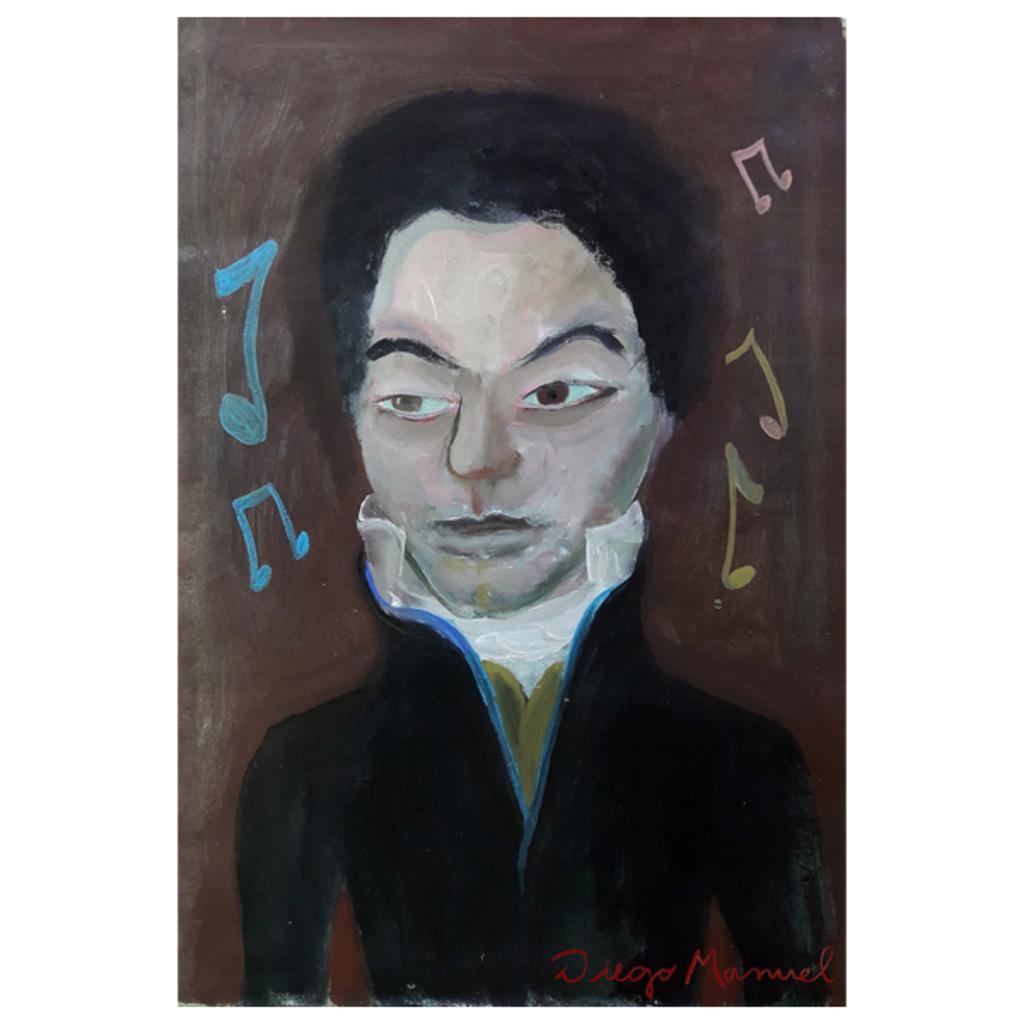NeatoShop: Ludwig van Beethoven portrait 2
