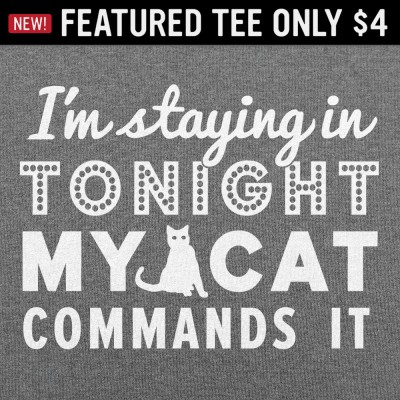6 Dollar Shirts: Cat Commands