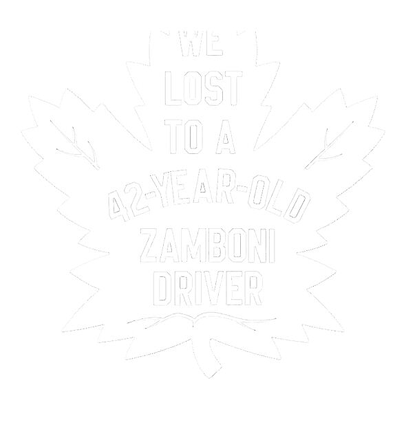 RedBubble: We lost to a 42-year-old Zamboni driver (White)