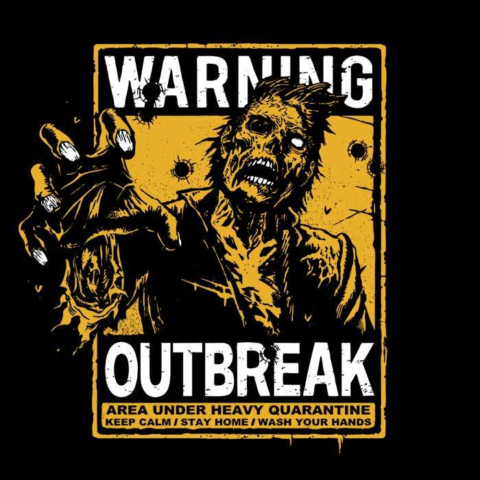 Once Upon a Tee: Warning: Outbreak