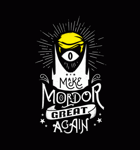 BustedTees: Make Mordor Great Again
