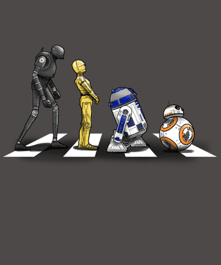 Qwertee: Droid Road