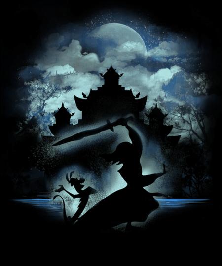 Qwertee: Moonlight