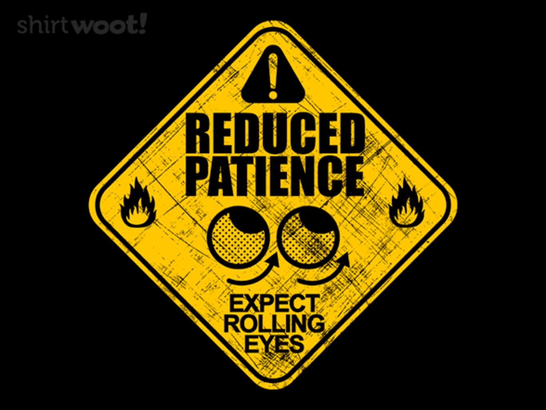 Woot!: Eye Rolls Ahead