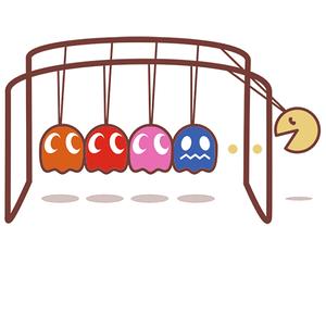 Qwertee: Pacman's cradle