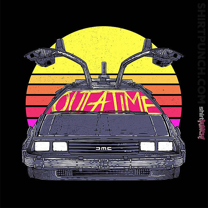 ShirtPunch: Outatime In The 80s