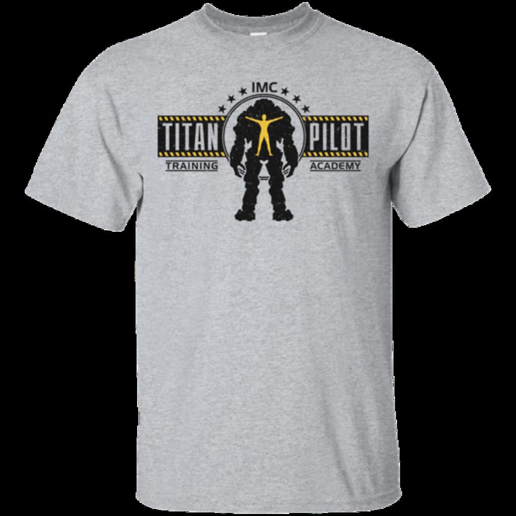 Pop-Up Tee: Titan Pilot
