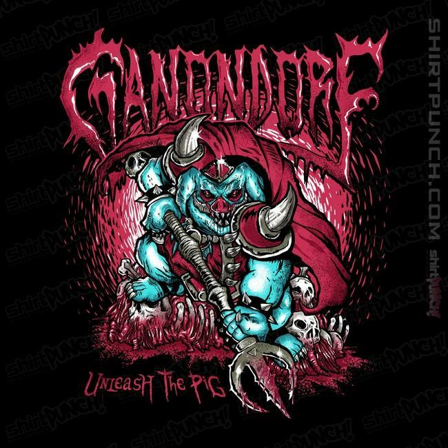 ShirtPunch: Ganondorf