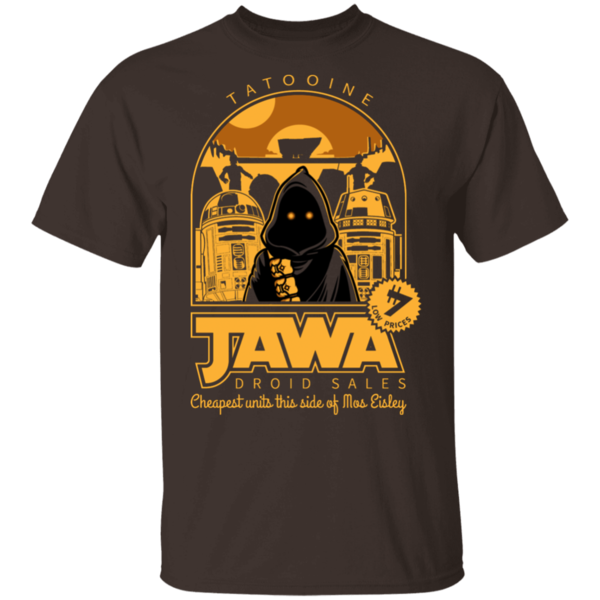 Pop-Up Tee: Jawa Droid Sales