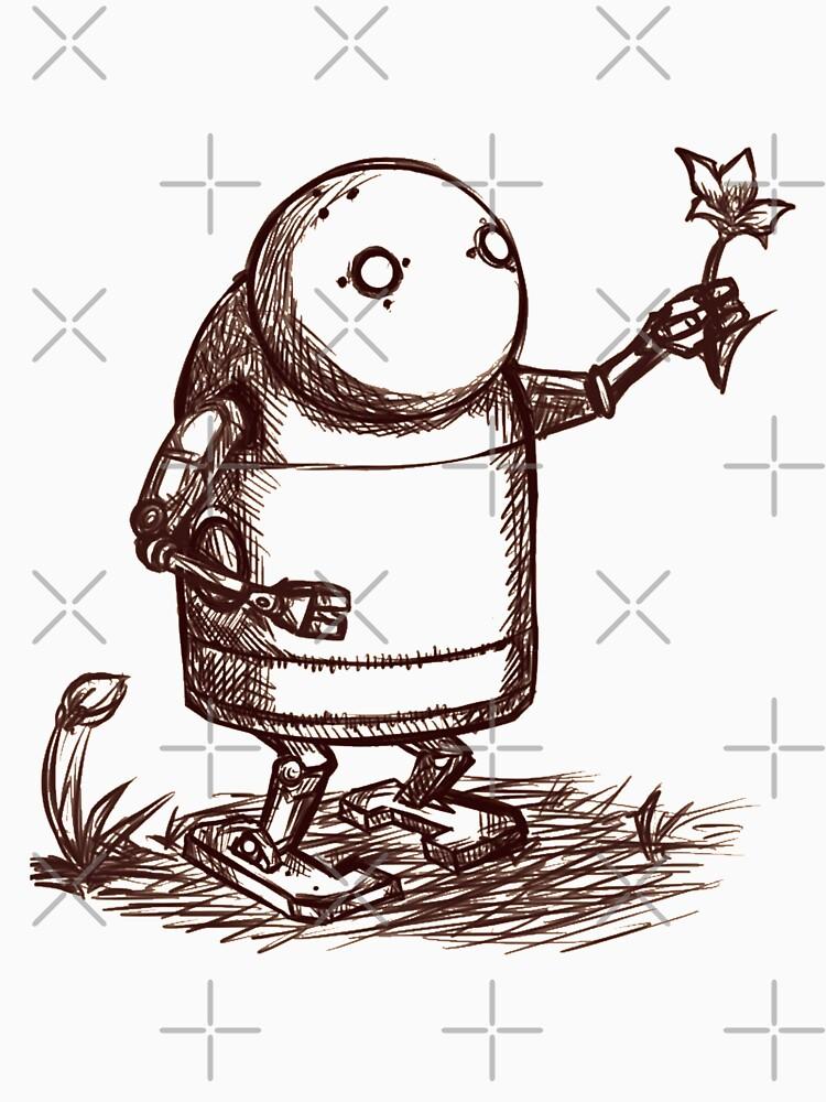RedBubble: NieR:Automata Robot
