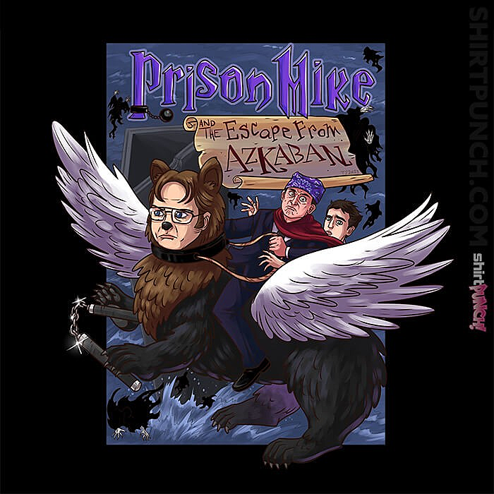 ShirtPunch: Prison Mike And The Escape From Azkaban