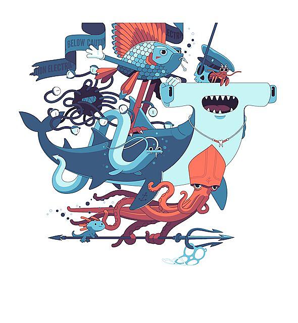 RedBubble: Sea Mob