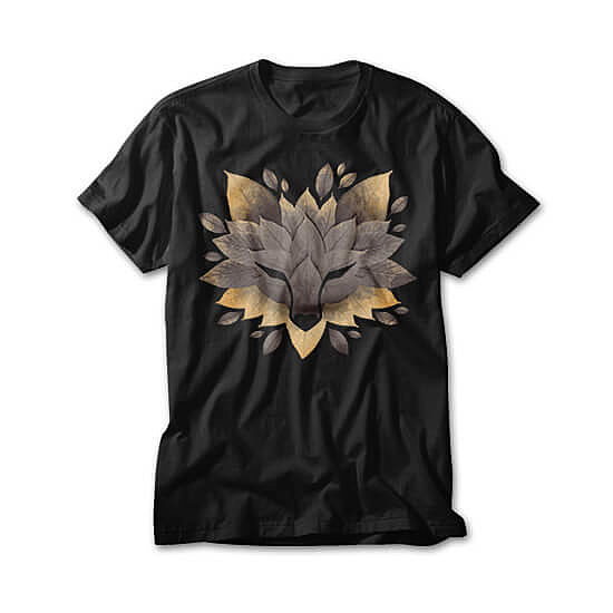 OtherTees: Wolf of leaves