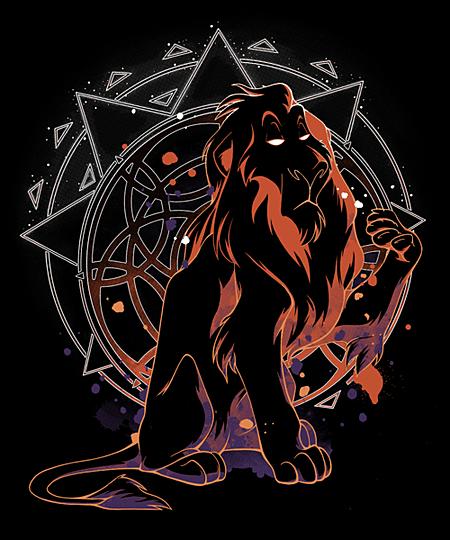 Qwertee: Scar The Lion