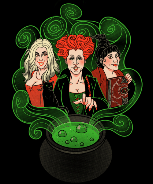 Qwertee: I put a spell on you