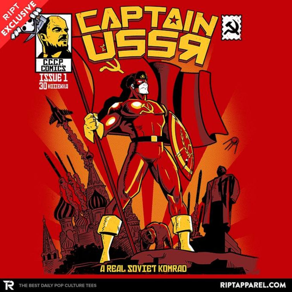Ript: Captain USSR: Issue 1