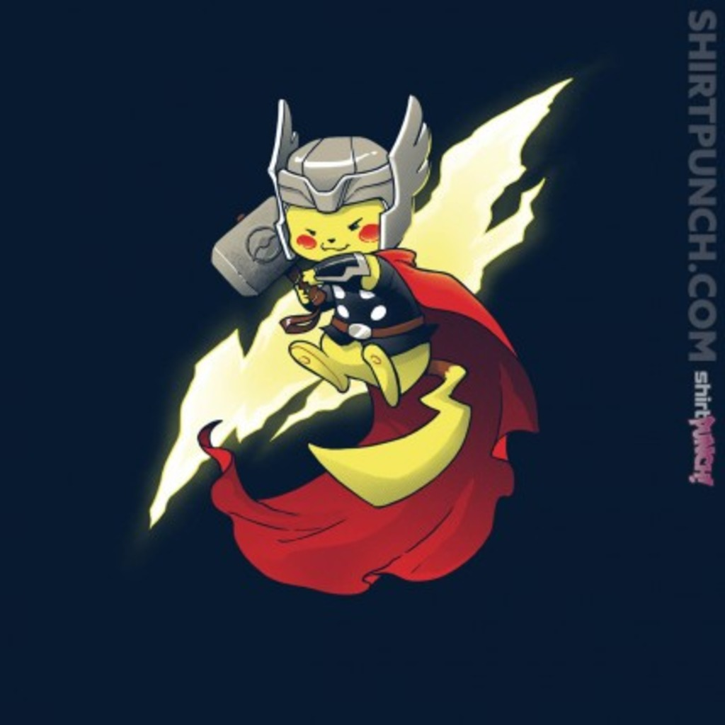 ShirtPunch: Thundermon