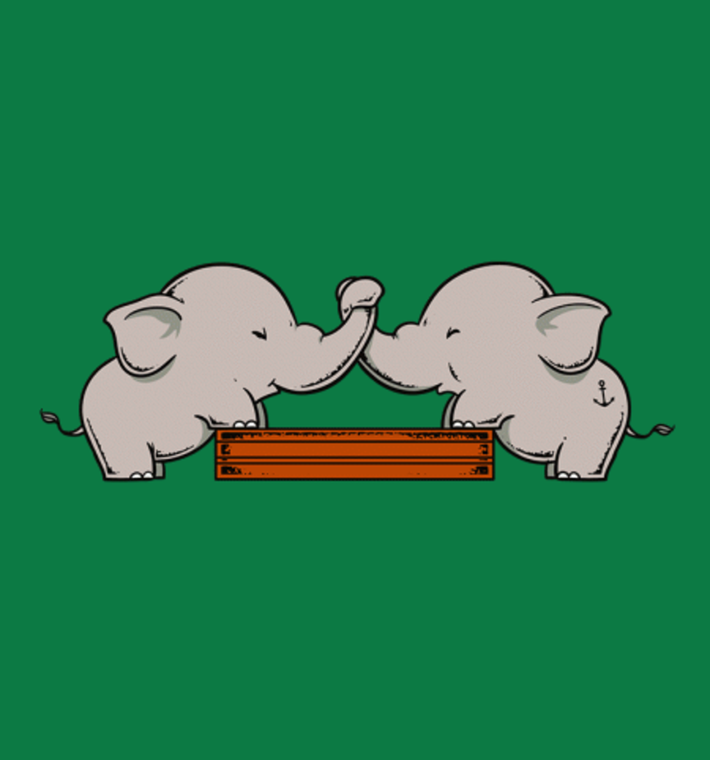 BustedTees: Trunk Wrestling