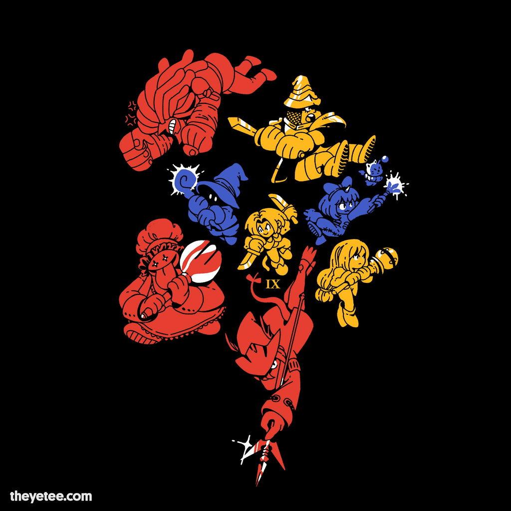 The Yetee: Adventuring Troupe