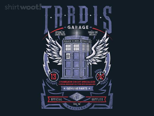 Woot!: Tardis Garage