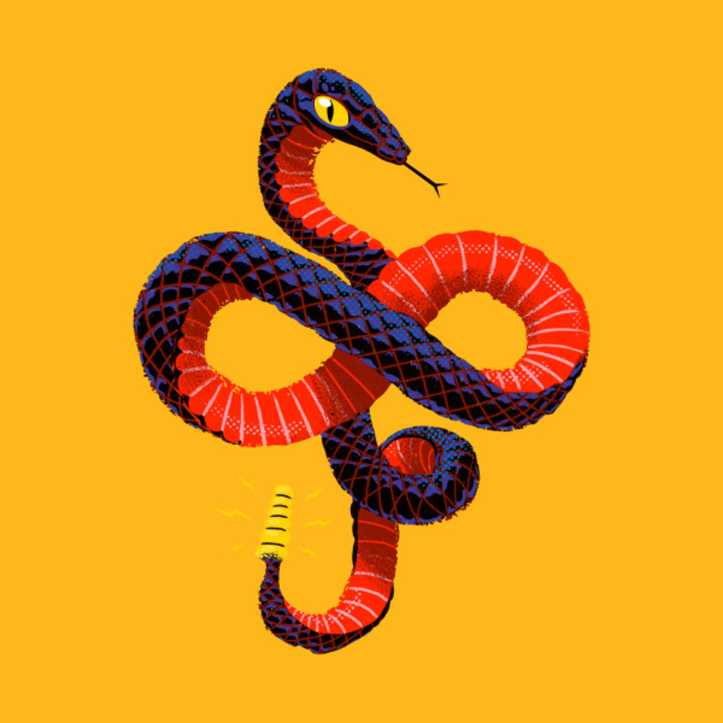 TeePublic: Infnity Danger Noodle