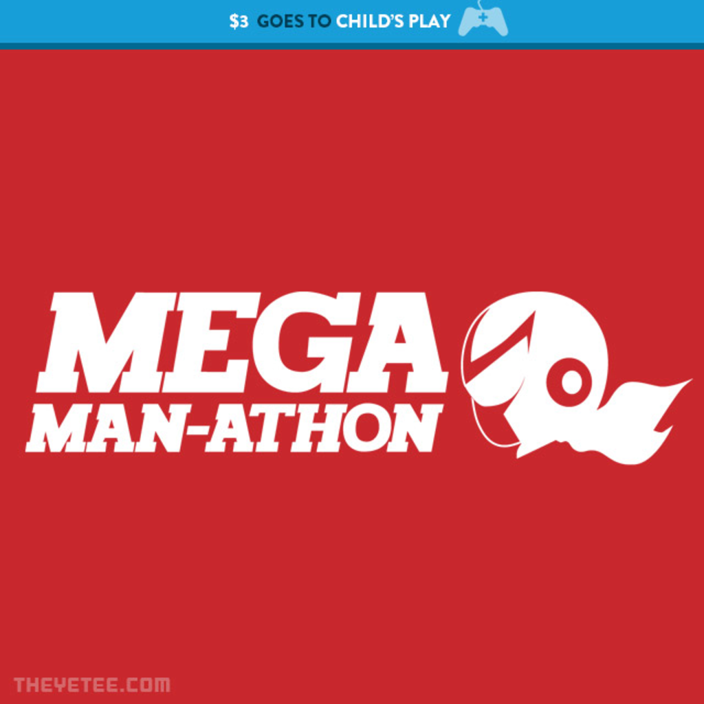 The Yetee: MegaMan-athon Red