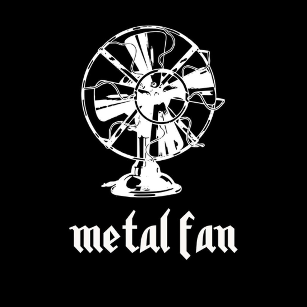 BustedTees: Metal Fan
