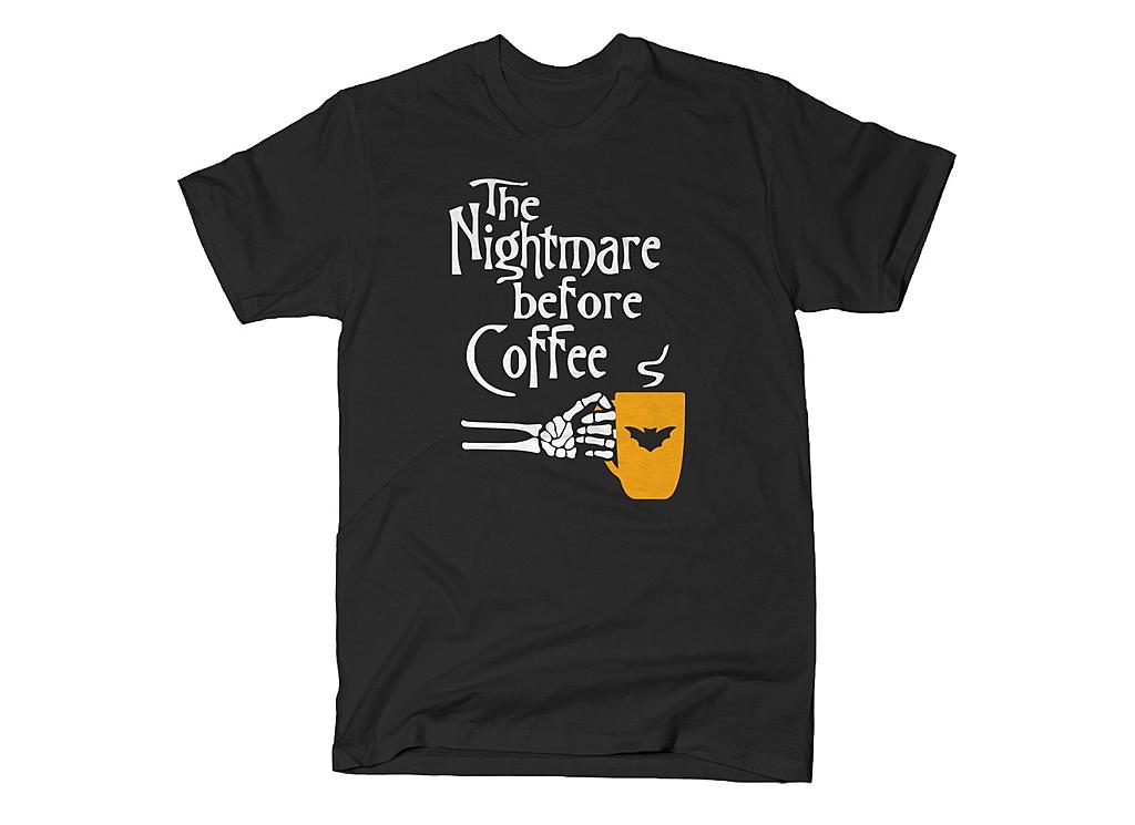 SnorgTees: The Nightmare Before Coffee