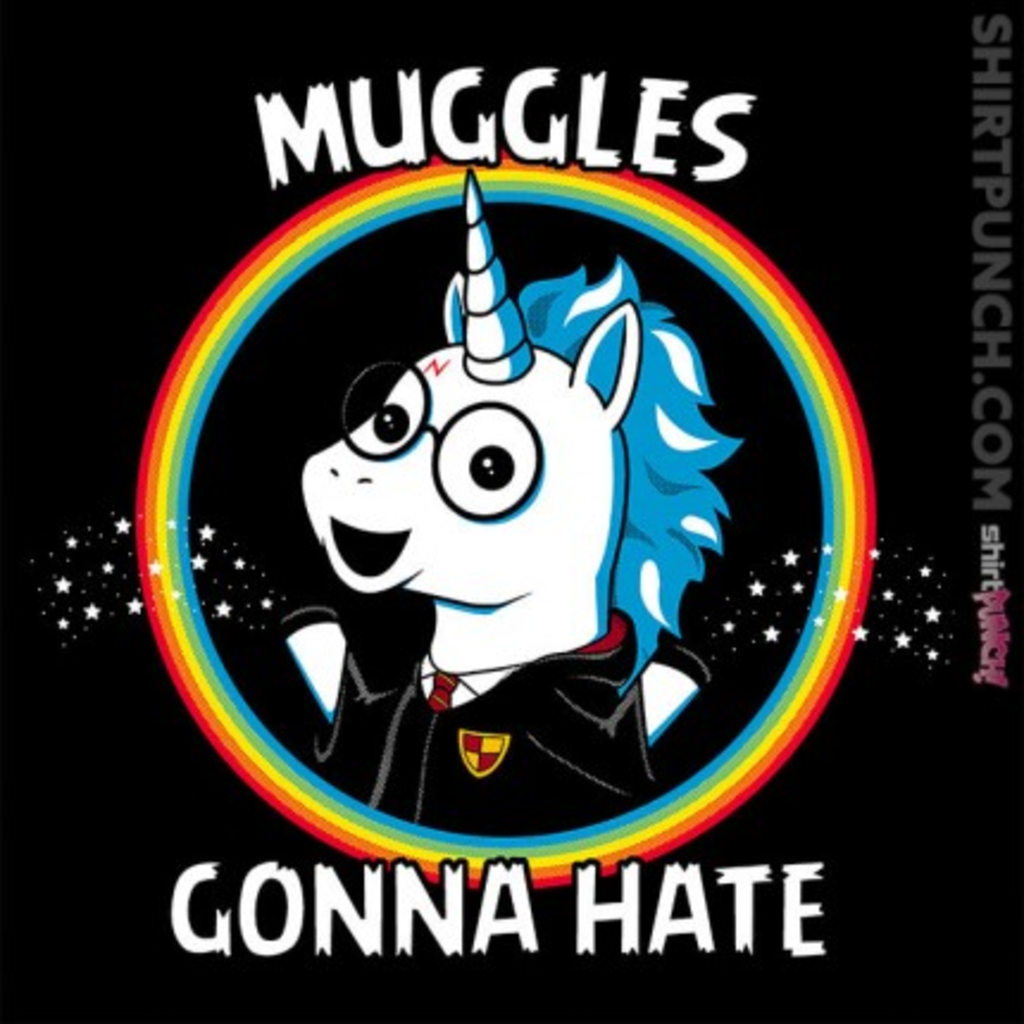 ShirtPunch: Muggles Gonna Hate