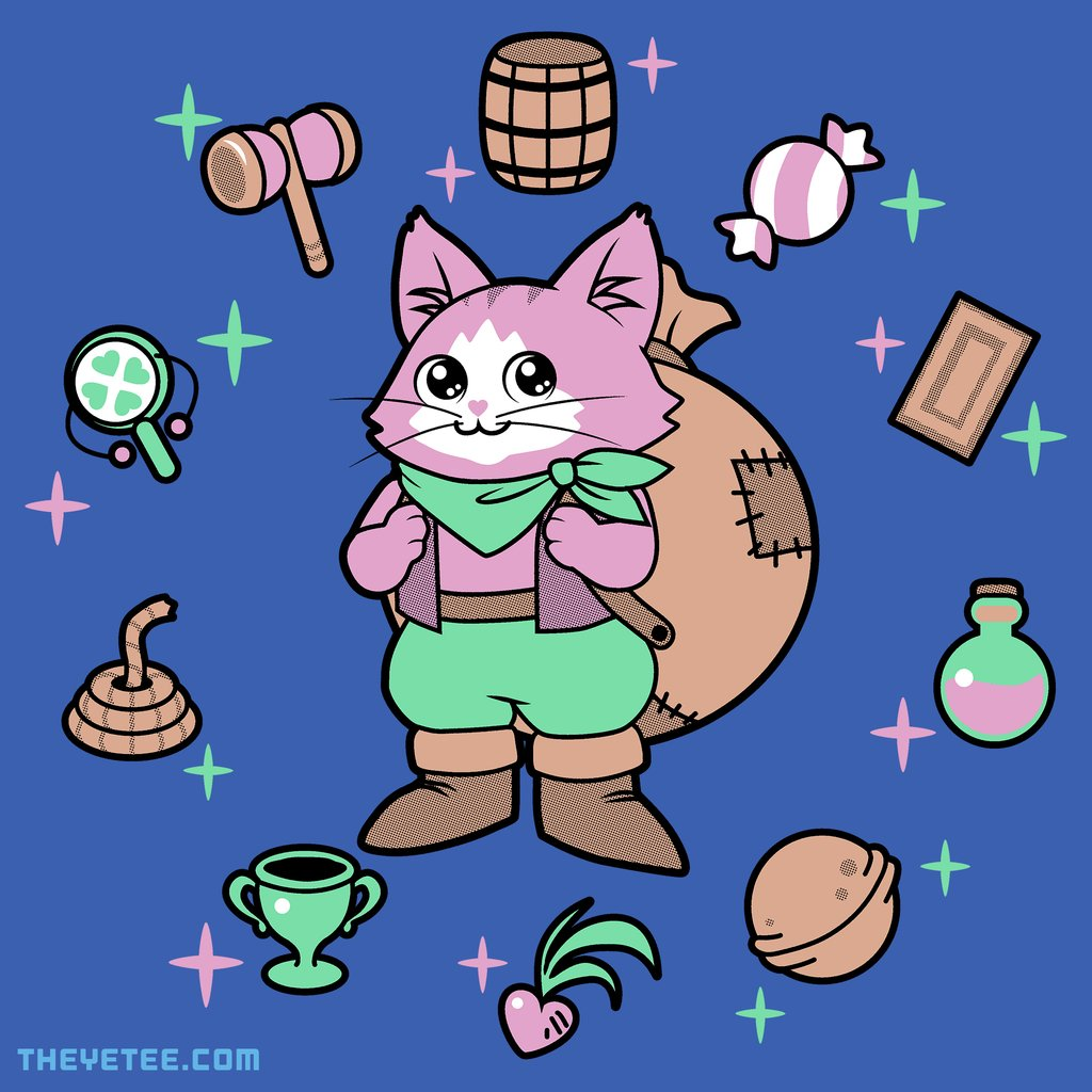 The Yetee: Purr-fect weather today, wanna buy some items?