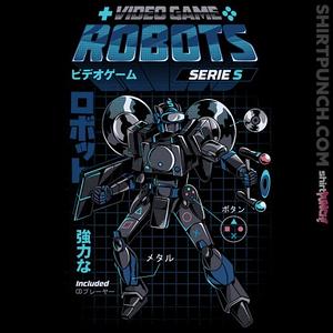 ShirtPunch: Video Game Robot Model S